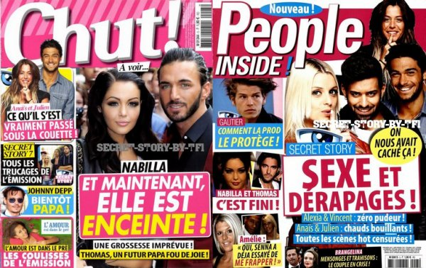 La presse people : 2 de plus !!!