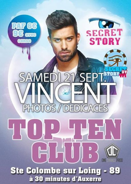 Vincent au Top Ten