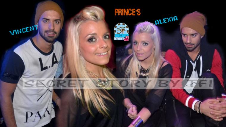 Alexia et Vincent au Prince's samedi soir