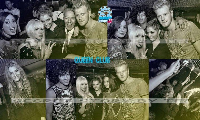Jamel, Clara, Florine, Emilie et Guillaume au Queen Club