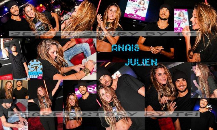 Ana�s et Julien au Nice Club