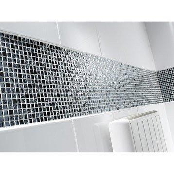 Carrelage mural salle de bain et mosaique pour le sol de for Carrelage pour sol de salle de bain