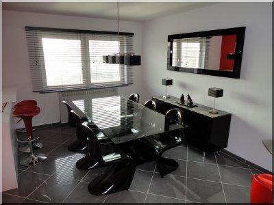 salle manger pose du luminaire noswerewolf. Black Bedroom Furniture Sets. Home Design Ideas