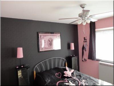 décoration chambre playboy