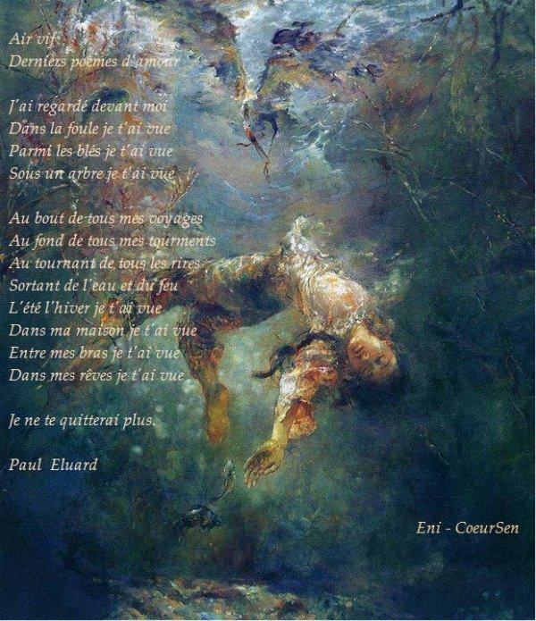 Paul Eluard air vif analyse
