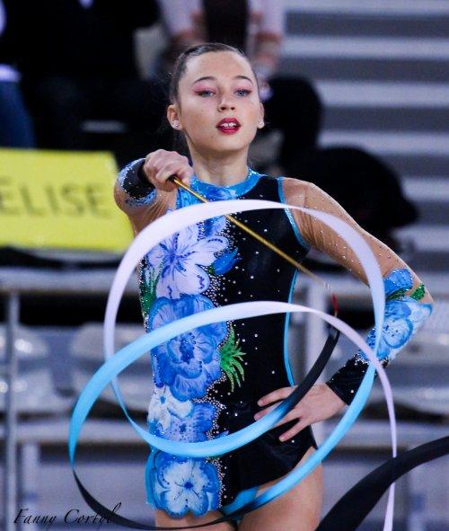 Championnat de France Fédérale Cadette - 17ème Elise Andriesse