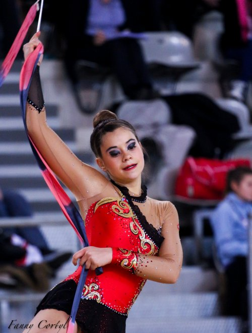 Championnat de France Fédérale Cadette - 9ème Ilana Blusson