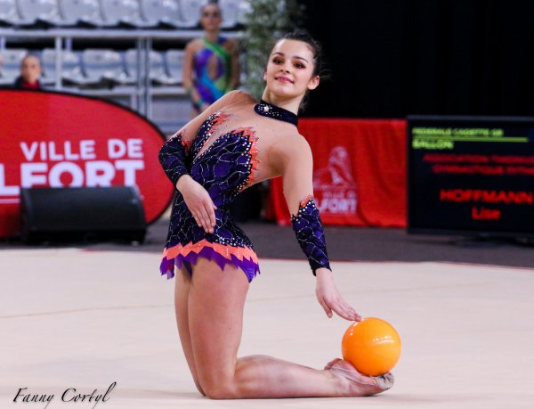 Championnat de France Fédérale Cadette - 4ème Lise Hoffmann