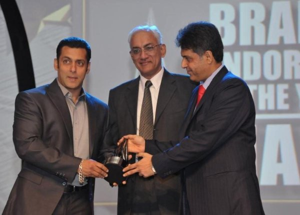 Salman Khan Win Brand Endorser of the Year Award