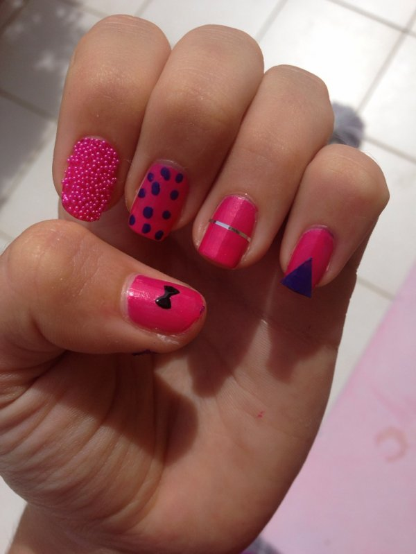 Mon nail arts a ma fa�on