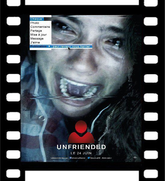 Critique de film Unfriended