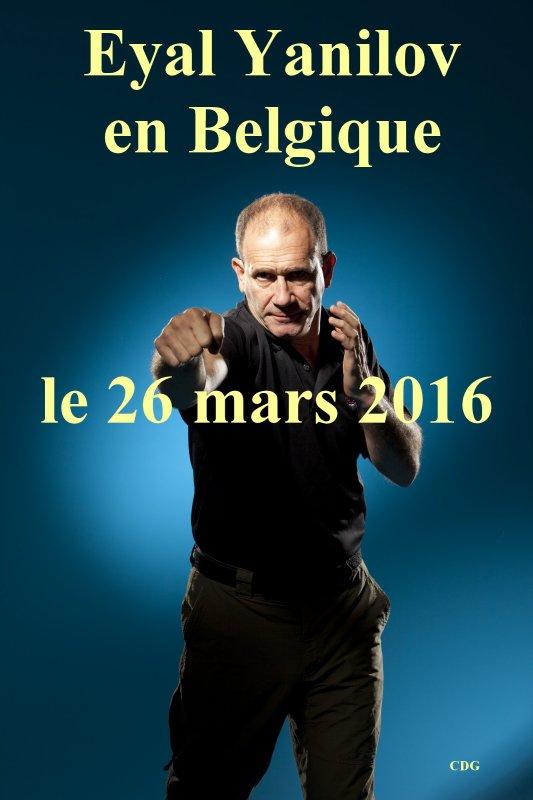 � vos agenda ... Eyal Yanilov en Belgique en  2016