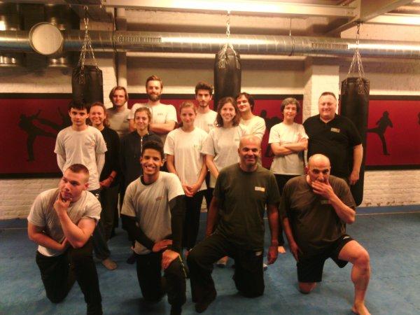 Mardi 18 octobre 2016 de 18h30 � 20h00 - cours de krav-maga � l'American Gym