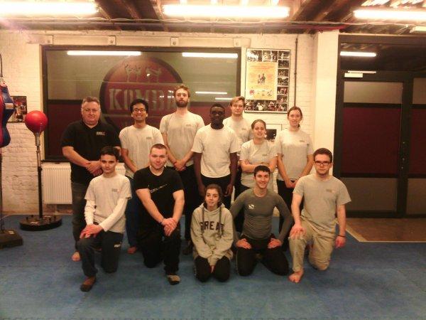 jeudi 12  janvier 2017 de 18h30 à 20h00 - cours de krav-maga à l'American Gym