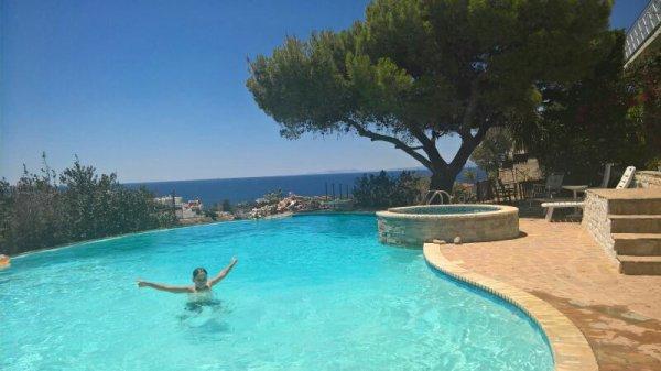 Vacances avec papa & dom en Gr�ce ! :)