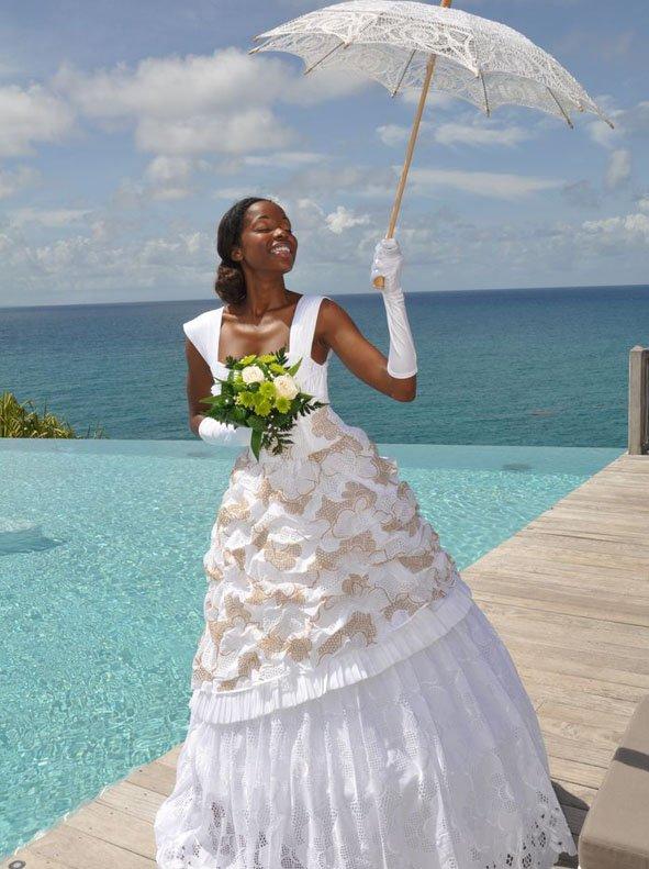 Mariage ambiance de luxe et d 39 l gance antillaise sur un fond de traditio - Liste de mariage ambiance et style ...
