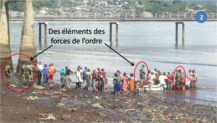 Accident : Le Directeur des Mines d'Anjouan évacué par kwassa kwassa à Mayotte par les Autorités de l'île