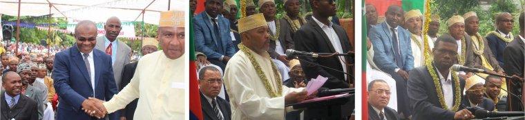 Le P�re fondateur de l'Universit� Des Comores de retour : Le Centre Universitaire de Patsy au rendez-vous du Pr�sident Azali