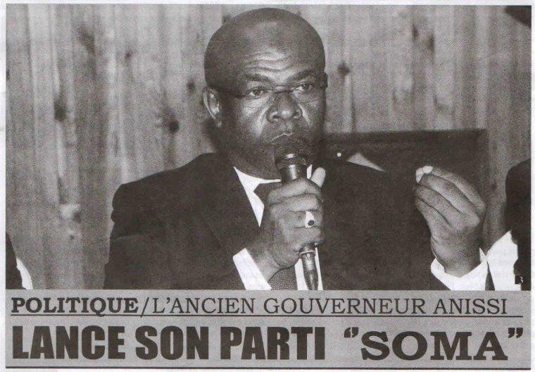 L'ancien gouverneur Anissi lance son parti � SOMA �