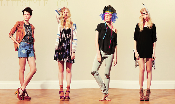 ___+ MODE  ___lookbook urban outfitters spring/summer 2011