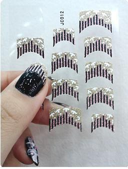 Faire soi m me ses stickers pour ongles mode - Decoration ongle a faire sois meme ...