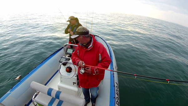 Pêche aux lieus à 2 bateaux 8/10/2016