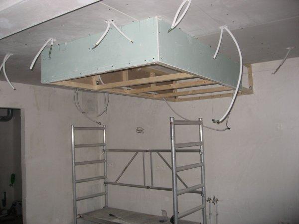 Faux plafond de la cuisine et photovolta ques blog de for Plafond de cuisine design