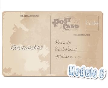 Ta carte postale Ma-Bimbo