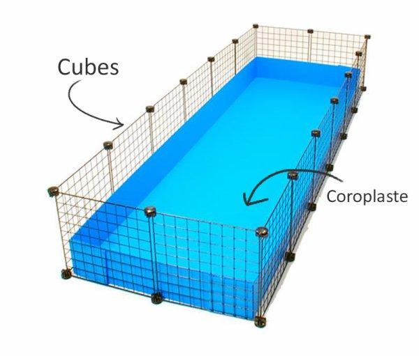 astuce comment construire une cavy cage pour cochon d 39 inde. Black Bedroom Furniture Sets. Home Design Ideas