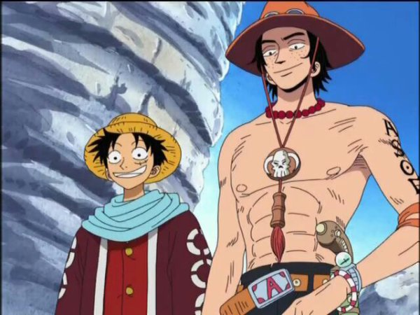 luffy rencontre ace