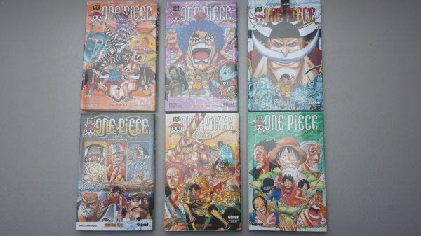 Suite de ma collection One Piece et Bleach
