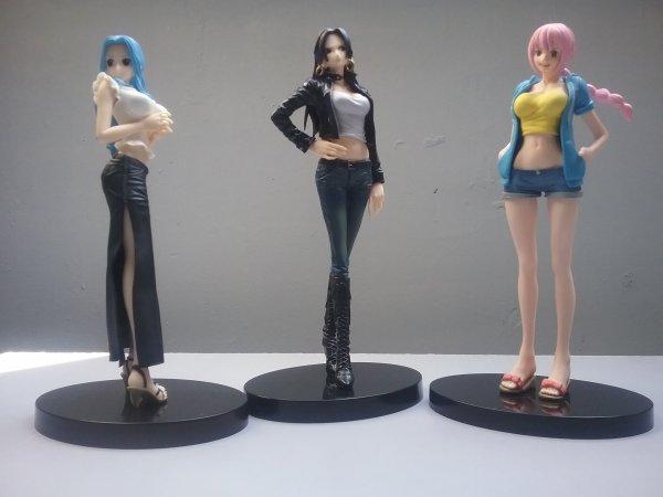Colis arriv� du Japon (collection One Piece)