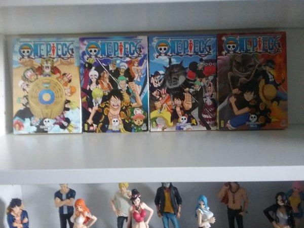 Derniers dvd de Fairy Tail & One Piece achet�s