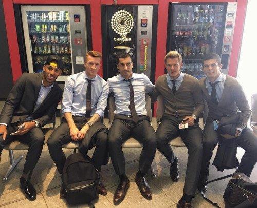 Les joueurs cette semaine (28/05) (Weigl,Castro,Reus,Aubameyang,Burki)