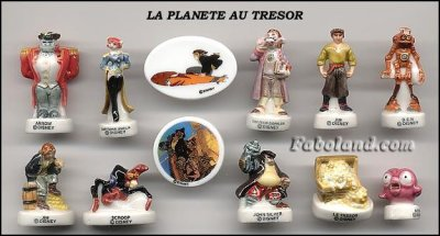 Dans ma collection: La plan�te au tr�sor