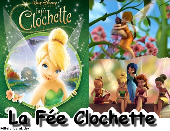 Dessin Animé :  La Fée Clochette ► 2009 & 2010 & 2011 ◄