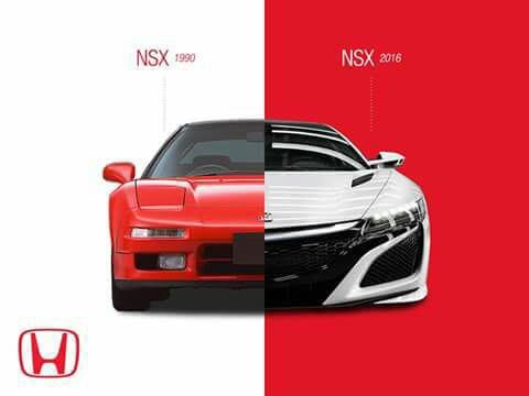 NSX générations