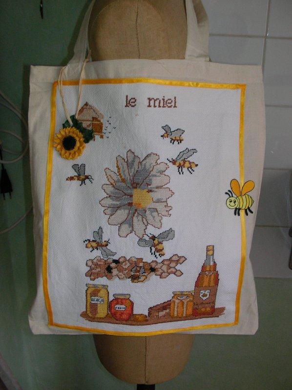 Voici six sacs de ma confection