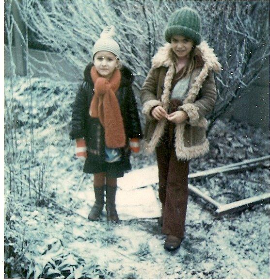 mes soeurs catherine et myriam