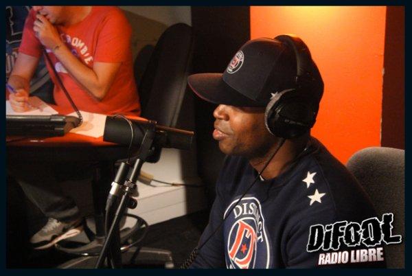 Rohff, en direct dans la Radio Libre !