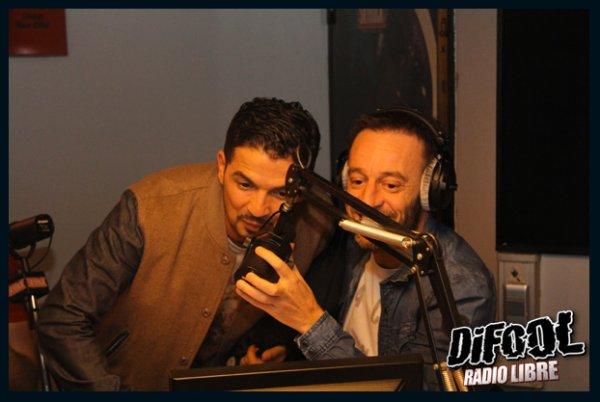 Tunisiano dans la Radio Libre de Difool