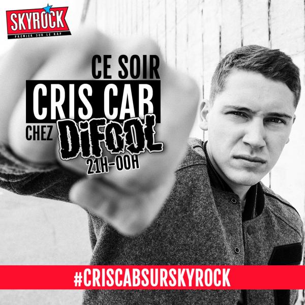 Cris Cab dans la Radio Libre de Difool
