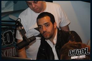 Les acteurs de Babysitting dans la Radio libre de Difool