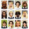 Les joueurs de l'�quipe de France en femmes!