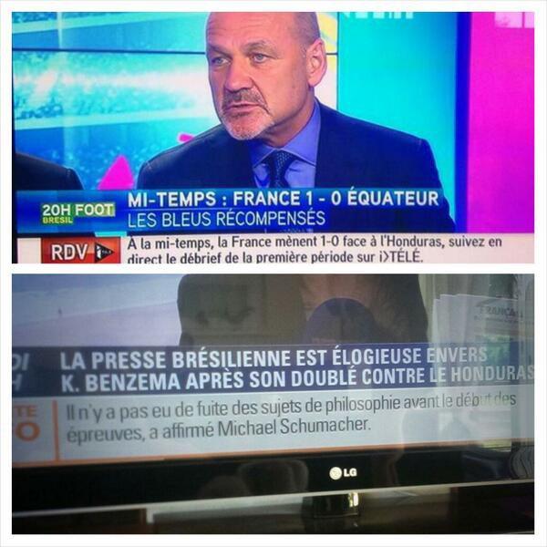 BFMTV et Itélé un peu à la ramasse... lool