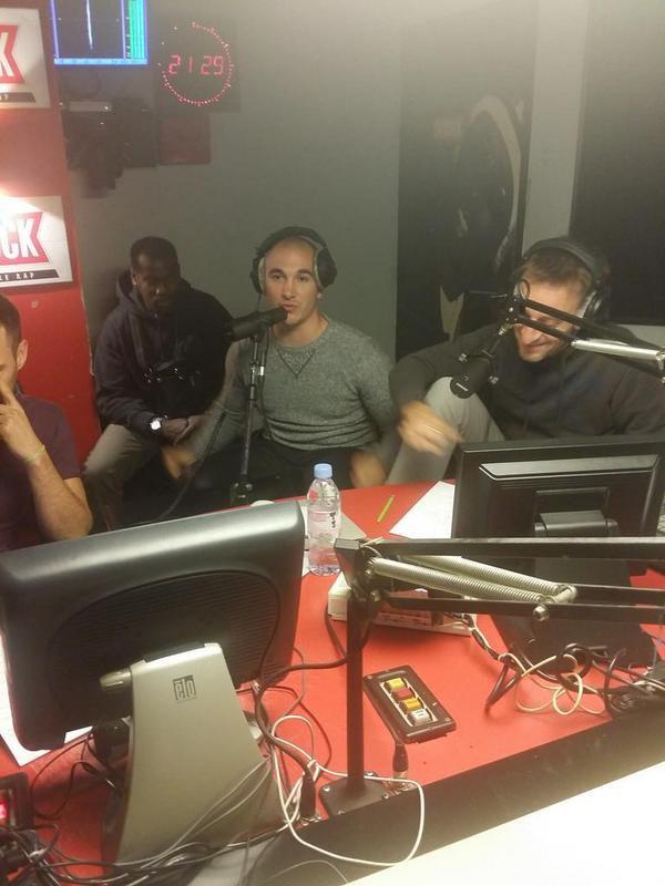 "Maska est avec nous dans la Radio Libre pour pr�senter en EXCLU le clip de "" Profiter de ma life"""