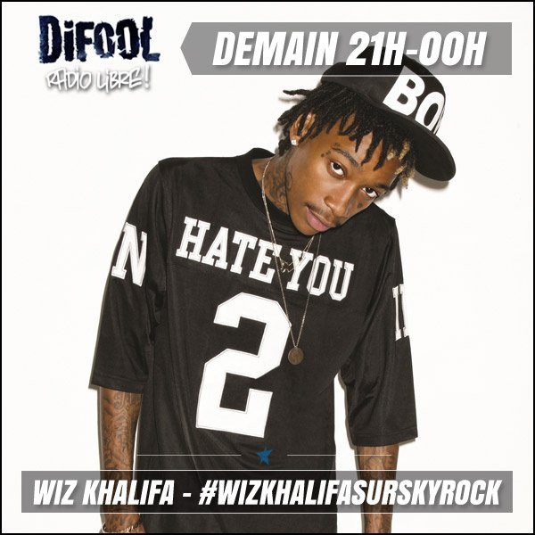 Difool re�oit Wiz Khalifa demain !