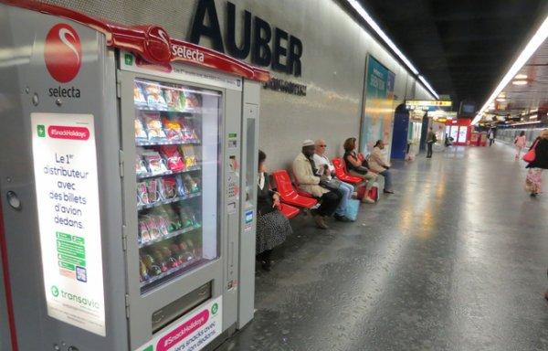 3.000 billets d'avions � bas prix � saisir dans les distributeurs automatiques !