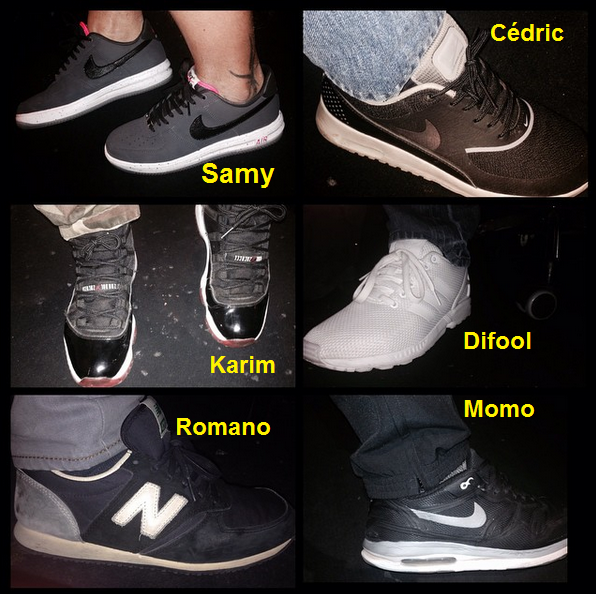 Alors qui a les plus belles chaussures parmi les membres de l'�quipe? :p #RadioLibreDeDifool