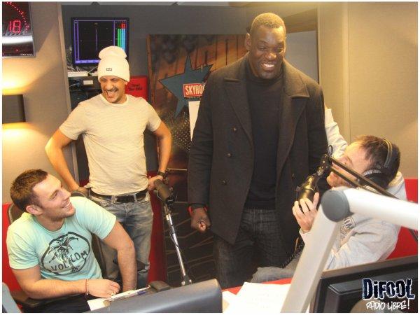 Rim'k, Ap et Patrice Quarteron dans la Radio Libre de Difool